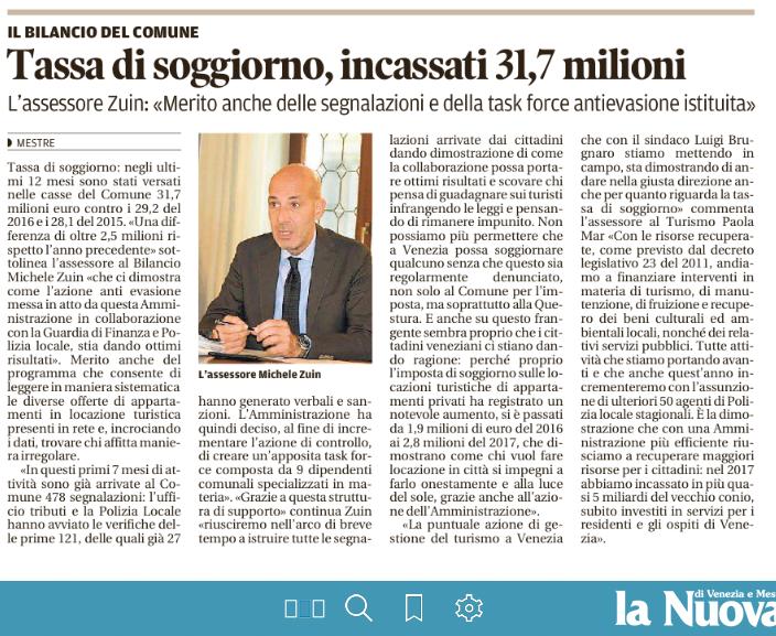 Rassegna Stampa Associazione Agata: Venezia, Appartamenti ...